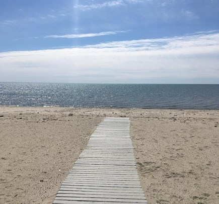 West Harwich Cape Cod vacation rental - Pleasant Road Beach on Nantucket Sound is just 1/2 mile away