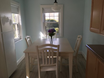 West Harwich Cape Cod vacation rental - Eat in area of kitchen.