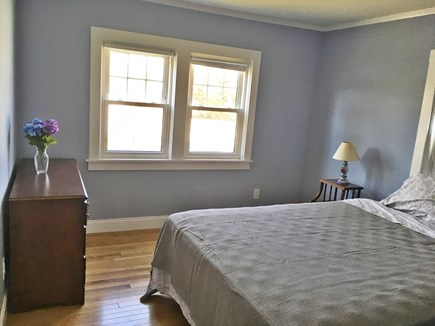 West Harwich Cape Cod vacation rental - Master bedroom with queen bed.