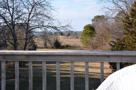 Brewster Cape Cod vacation rental - View from master bedroom deck
