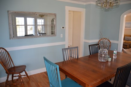 Brewster Cape Cod vacation rental - Dining table can seat eight