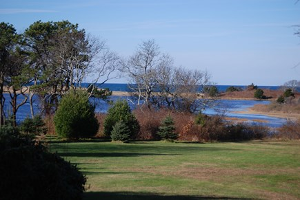 Brewster Cape Cod vacation rental - View from home at high tide