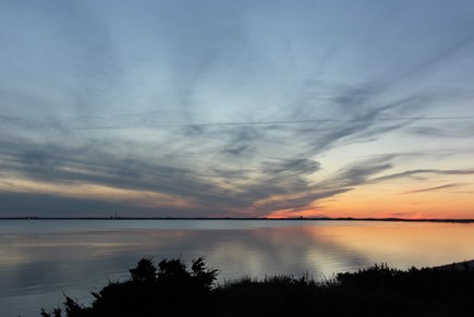 Truro Cape Cod vacation rental - Sunset Viewed From Deck