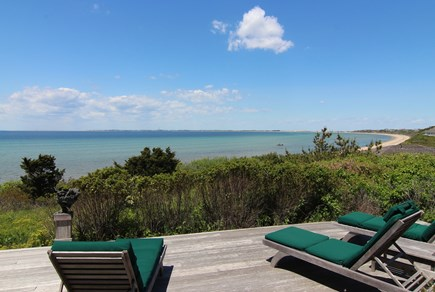 Truro Cape Cod vacation rental - Deck Viewing Cape Cod Bay