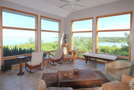 Truro Cape Cod vacation rental - Water Views From Great Room