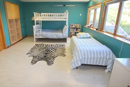 Truro Cape Cod vacation rental - Bedroom 4 - Bunk Beds (Twin & Queen Bottom) & Twin/Twin Trundal.