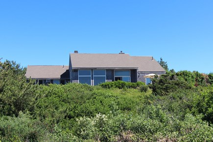 Truro Cape Cod vacation rental - Home Viewed From Bluff