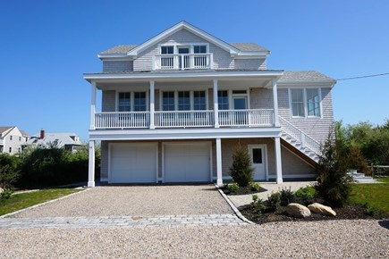Falmouth Cape Cod vacation rental - 2 Car Garage Front View