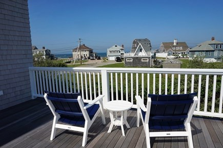 Falmouth Cape Cod vacation rental - Patio overlooking the water