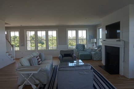 Falmouth Cape Cod vacation rental - Living Room with TV