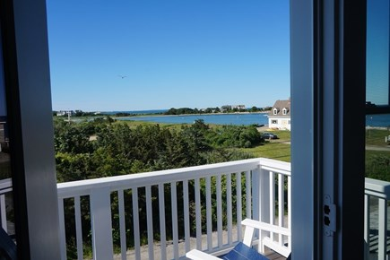 Falmouth Cape Cod vacation rental - Deck with view
