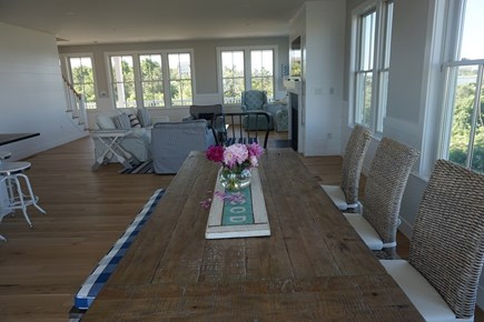 Falmouth Cape Cod vacation rental - Living Room/dining