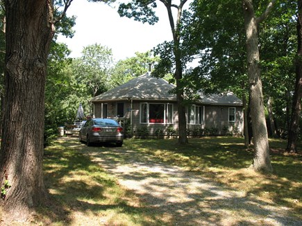 Orleans Cape Cod vacation rental - Private setting, set back from road.  Many trees in front removed