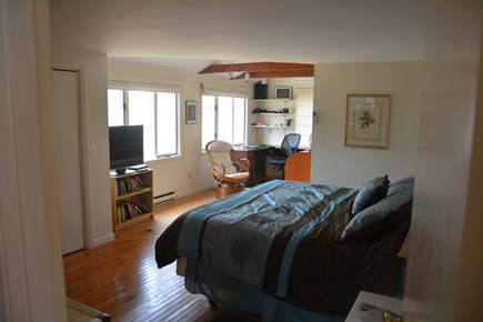 Orleans Cape Cod vacation rental - Master bedroom with study area in the back.