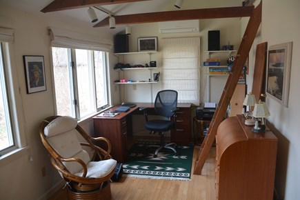 Orleans Cape Cod vacation rental - Study area at back of Master bedroom