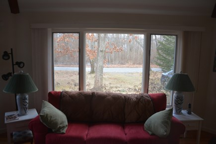 Orleans Cape Cod vacation rental - View out front window.  Small conservation area across street.