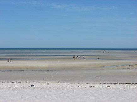 Orleans Cape Cod vacation rental - Beautiful Skaket Beach at low tide - just a mile away!