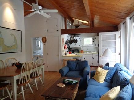 Wellfleet Cape Cod vacation rental - Open Living Kitchen Dining
