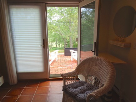 Wellfleet Cape Cod vacation rental - Leaving bottom level floor and headed out to the patio