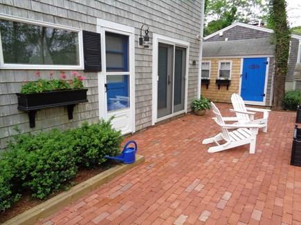 Wellfleet Cape Cod vacation rental - Patio Outside Of Queen Bedroom