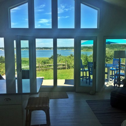 Wellfleet Cape Cod vacation rental - View from Living Area