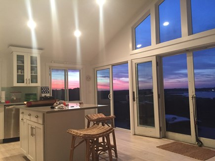 Wellfleet Cape Cod vacation rental - Kitchen/ Living area