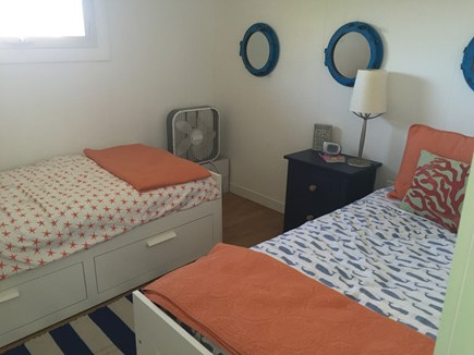 Wellfleet Cape Cod vacation rental - Bedroom #1 (2 twins/ trundles)