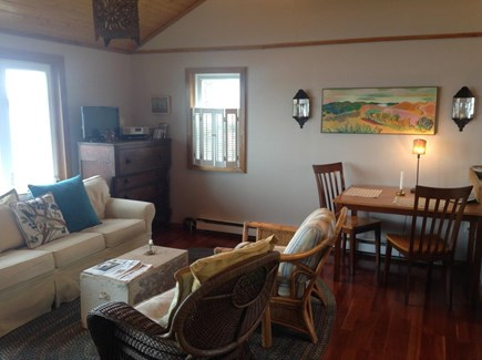 Yarmouth, The tip of South Sea Village Cape Cod vacation rental - Living and Dining area