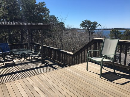 Wellfleet Cape Cod vacation rental - View from upper level deck