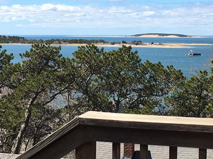 Wellfleet Cape Cod vacation rental - Bay view to the west from the deck