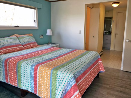 Wellfleet Cape Cod vacation rental - Master Queen bedroom with en suite full bath