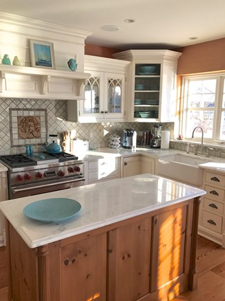 Harwich Cape Cod vacation rental - Social chef's kitchen with water view is a joy.