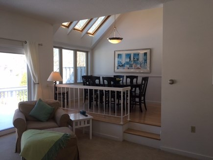 Brewster Cape Cod vacation rental - Living room is open to a wonderful dining room area