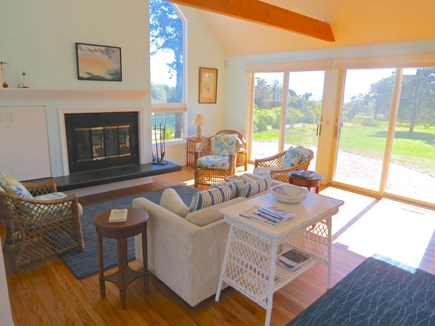 Chatham Cape Cod vacation rental - Bright, cheery lounge seating in the guest house.