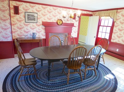Chatham Cape Cod vacation rental - Main house dining area has more chairs not shown.