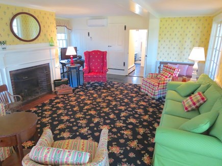 Chatham Cape Cod vacation rental - Comfy lounge seating in the main house living room.