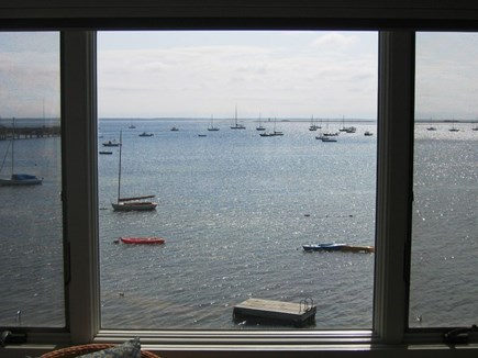Provincetown Cape Cod vacation rental - Sit in the living room and enjoy the activity in the harbor