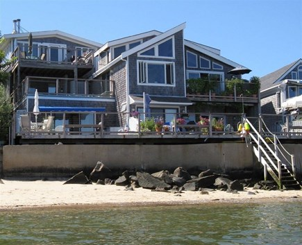 Provincetown Cape Cod vacation rental - View of Waterfront West from the beach