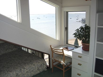 Provincetown Cape Cod vacation rental - Built in desk with wonderful views