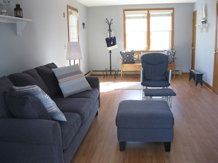 Falmouth Cape Cod vacation rental - Family room, new flat screen TV