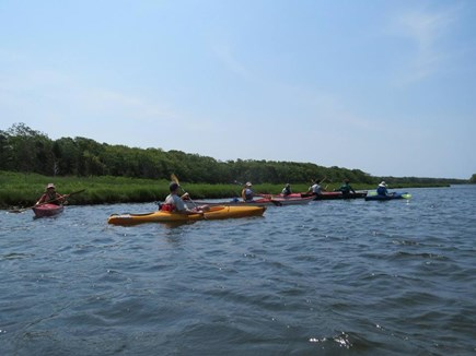Falmouth Cape Cod vacation rental - Great kayaking on Bournes Pond (short walk from the house)
