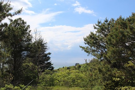 Truro Cape Cod vacation rental - Views over Cape Cod Bay from Yard