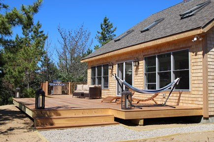Truro Cape Cod vacation rental - Relax on deck