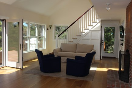 Truro Cape Cod vacation rental - Spacious living room