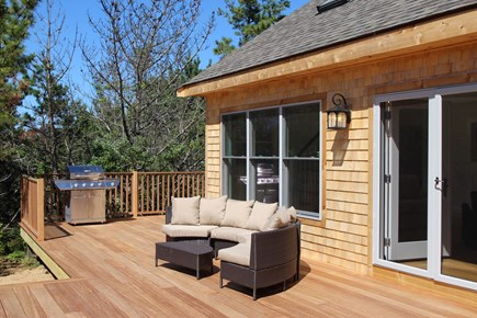 Truro Cape Cod vacation rental - Great deck with very comfy furniture