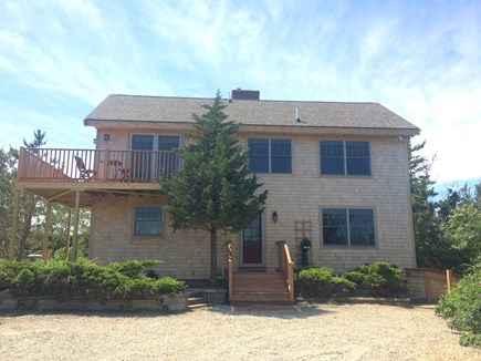 Truro Cape Cod vacation rental - Front of Home, large driveway