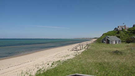 Truro Cape Cod vacation rental - Great Hollow Beach is a few minutes walk from the house