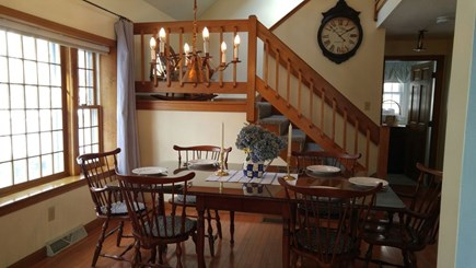 Hyannis Cape Cod vacation rental - Dining room can easily seat 8 guests.