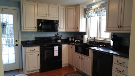 Hyannis Cape Cod vacation rental - Fully equipped kitchen with dishes, glasses, cookware and staples