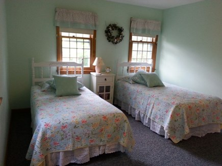 Hyannis Cape Cod vacation rental - Upstairs bedroom with twin beds.